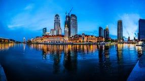 Jin ωχρό Plaza (Tianjin) Στοκ εικόνα με δικαίωμα ελεύθερης χρήσης