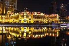 Jin ωχρό Plaza (Tianjin) Στοκ Εικόνες