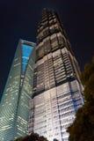 jin όψη πύργων νύχτας mao sfwc Στοκ Φωτογραφία