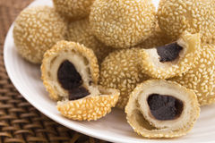 Jin Dui (sesame balls) Stock Photography