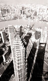 Jin Mao and Pearl Towers Shanghai China Stock Photography