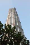 jin mao shanghai torn Royaltyfri Bild