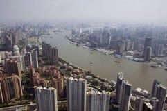 jin mao shanghai torn Arkivfoton