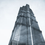 Jin mao tower shanghai stock photo