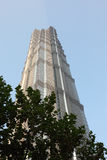 Jin Mao Tower in Shanghai Royalty Free Stock Image