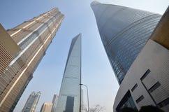 Jin Mao Tower Shanghai torn, finansiell mitt för Shanghai värld Royaltyfria Foton