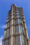 Jin Mao Tower Skyscraper Liujiashui Shanghai China Stock Photography
