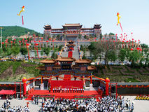 Jin tai temple view Royalty Free Stock Photography