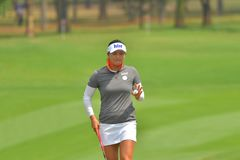 Jin Young Ko in Honda LPGA Thailand 2018. CHONBURI - FEBRUARY 24 : Jin Young Ko of Republic of Korea in Honda LPGA Thailand 2018 at Siam Country Club, Old Course Royalty Free Stock Photo