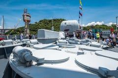 Jinam第152导弹驱逐舰 免版税图库摄影