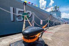 Jinam & x28; 数字152& x29;导弹驱逐舰 免版税库存照片
