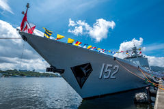 Jinam & x28; número 152& x29; contratorpedeiro do míssil Imagem de Stock