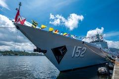 Jinam & x28; nummer 152& x29; missiljagare Fotografering för Bildbyråer