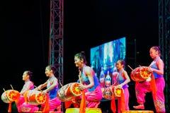 Jinan acrobatic troupe Stock Image