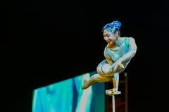 Jinan acrobatic troupe Stock Images