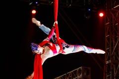 Jinan acrobatic troupe Stock Photography