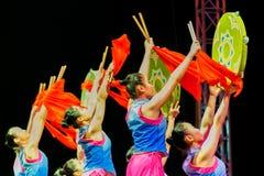 Jinan acrobatic troupe Royalty Free Stock Photos