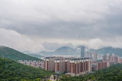 Jinan após o tufão 1 fotos de stock royalty free