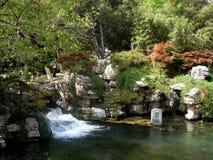 Jinan Baotu wiosny park zdjęcia royalty free
