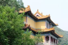 Jinan, Cina 7 giugno 2015 Eredità in giardino cinese Fotografia Stock Libera da Diritti