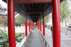 Jinan Daming sjön Royaltyfria Foton