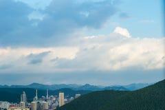 Jinan después del tifón 3 imágenes de archivo libres de regalías