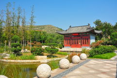 Jinan Expo Garden is the seventh China Internation Royalty Free Stock Photography