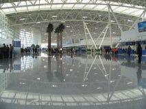 Jinan-internationaler Flughafen, China stockfoto