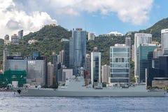 Jinan number 152 missile destroyer Royalty Free Stock Images