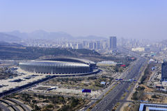 Jinan Olympic Sports Center Stock Photography