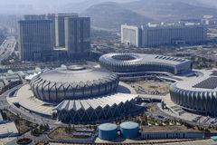 Jinan Olympic Sports Center Royalty Free Stock Photo