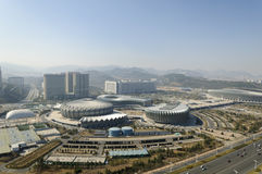Jinan Olympic Sports Center Stock Images