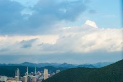 Jinan po tajfunu 3 obrazy royalty free
