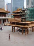 Jinan-Tempel Lizenzfreies Stockfoto