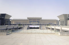 Jinan West Railway Station Royalty Free Stock Images