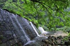 Jinbianxi,金黄鞭子小河 库存图片
