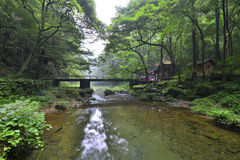 Jinbianxi, goldene Whip Stream Lizenzfreies Stockfoto