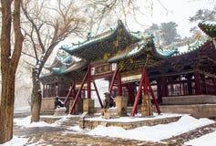 Jinci Memorial Temple(museum) scene. Duiyue archway Stock Photography