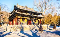 Jinci Memorial Temple(museum) scene. The mirror terrace Stock Images
