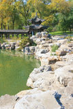 Jinci-Park Lizenzfreies Stockfoto