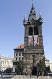 Jindřišská věž tower in Prague Royalty Free Stock Photo