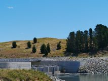 Jindabyne Dam in the Snowy mountains Royalty Free Stock Photo