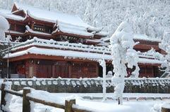 jinding的寺庙 库存照片