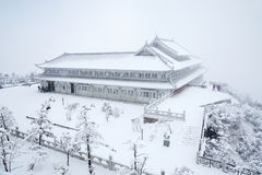 jinding temple  of MT.Emei Stock Images