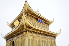 Jinding Temple Of MT.Emei Royalty Free Stock Images