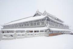 Jinding Temple Of MT.Emei Stock Photos