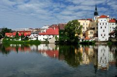 Jindrichuv Hradec Royalty Free Stock Photos