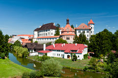 Jindrichuv Hradec Castle Στοκ Εικόνες
