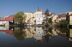 Jindrichuv Hradec castle, Czech Republic Stock Photo