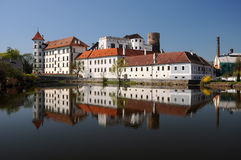 Jindrichuv Hradec castle, Czech Republic Royalty Free Stock Photography